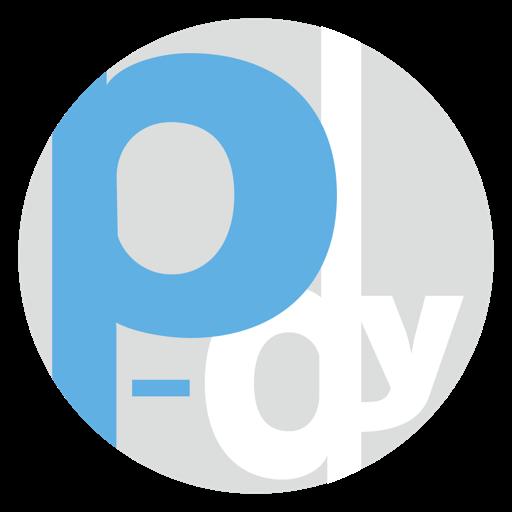 P-dyロゴ